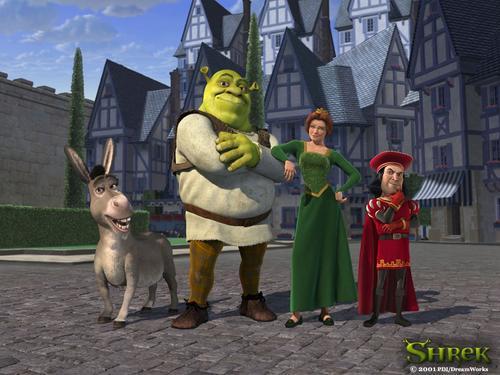 怪物史莱克Shrek(2001)桌面 #01