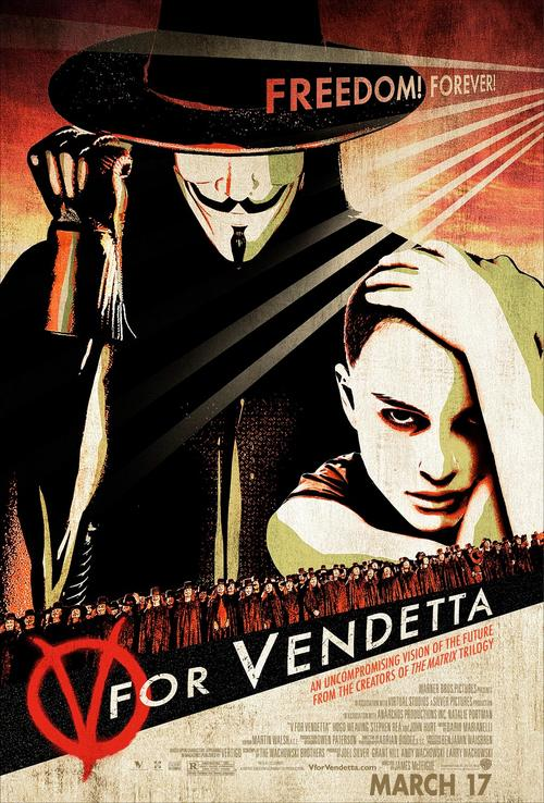 V字仇杀队V for Vendetta(2005)海报 #01