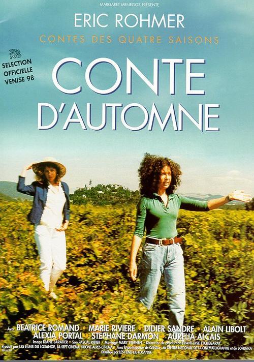 秋天的故事Conte d'automne(1998)海报 #01