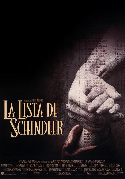 辛德勒的名单Schindler's list(1993)海报(西班牙) #02