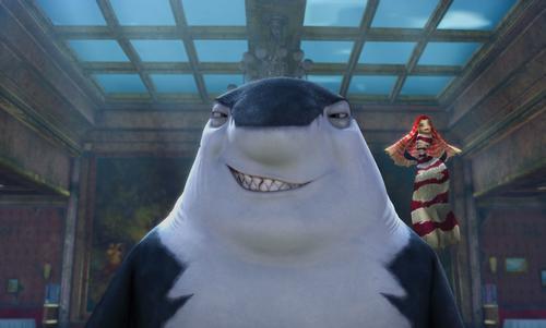 《鲨鱼故事》完全是对成人世界的模拟