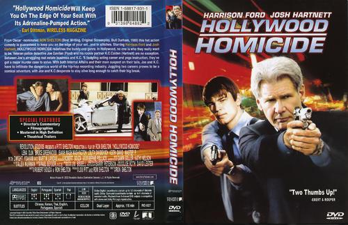 好莱坞重案组 Hollywood Homicide 2003 DVD封套 06 ...