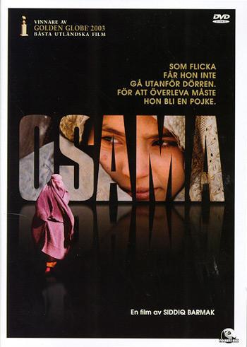 少女奥萨玛 dvd封套瑞典