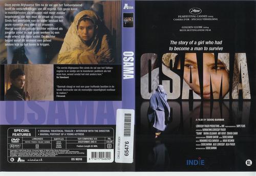 少女奥萨玛 dvd封套荷兰