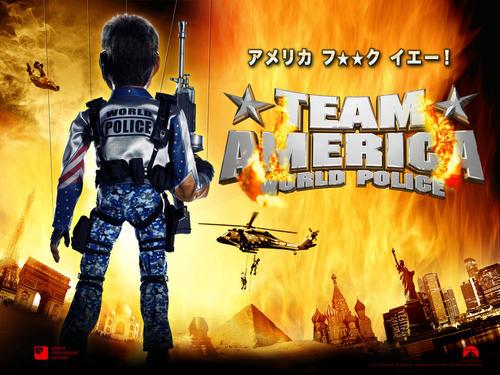 美国战队 世界警察