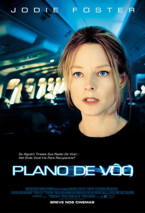 空中危机Flightplan 2005 海报 巴西