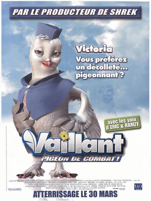 战鸽快飞 Valiant 2005 电影图片 角色海报 法国 大图 580...