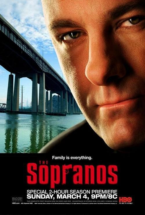 黑道家族The Sopranos 1999 角色海报