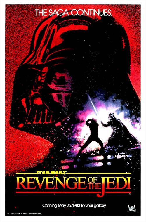 星球大战3:武士复仇Star Wars: Episode VI - Return of the Jedi(1983)海报 #11