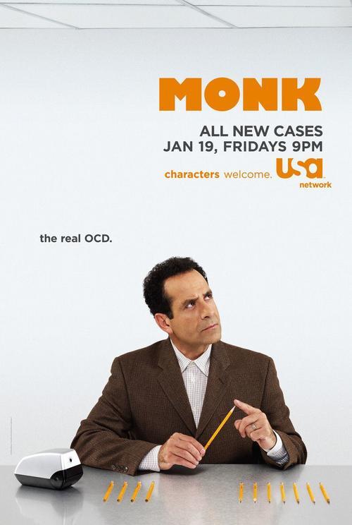 神探阿蒙Monk(2002)海报 #01