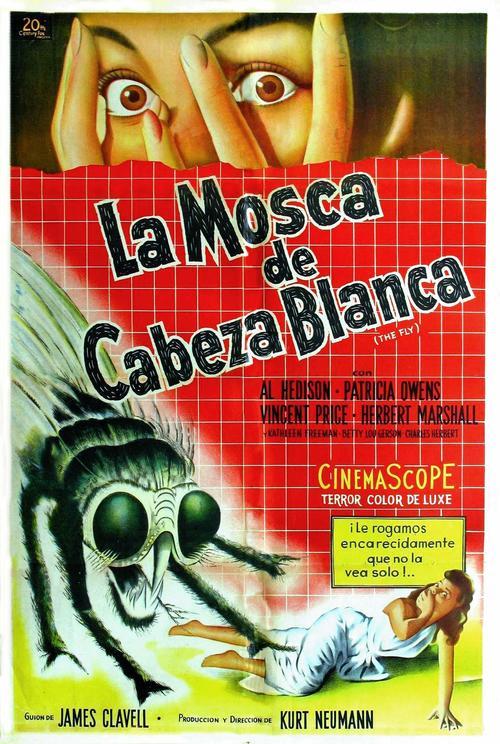 变蝇人 变蝇人电影海报