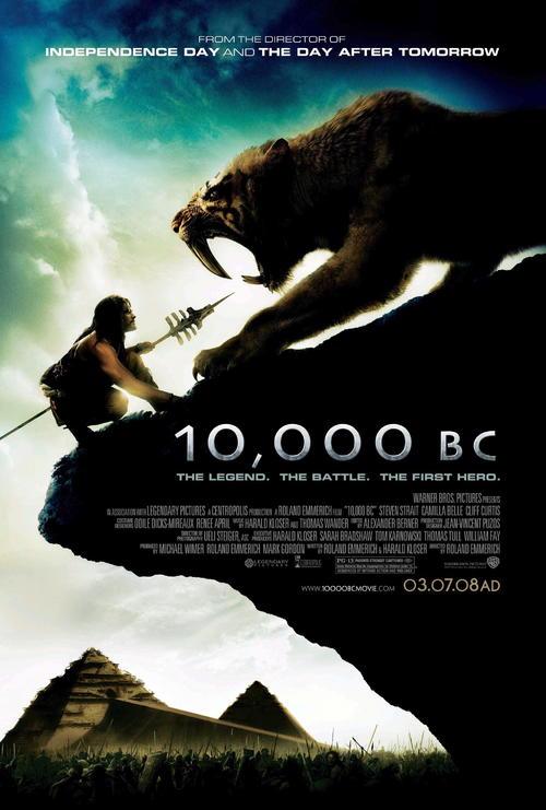 史前一万年海报图片