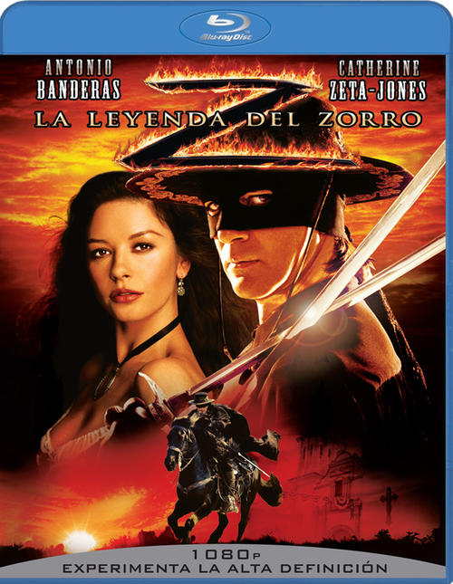 佐罗传奇The Legend of Zorro 2005 蓝光封套 西班牙