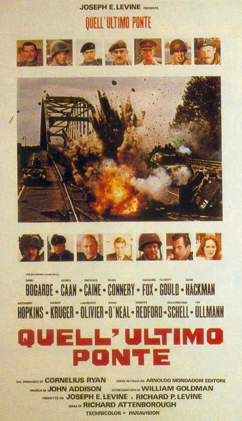 遥远的桥A bridge too far(1977)海报(意大利) #01