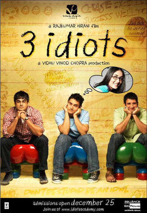 三个白痴Three Idiots(2009)预告海报 #05